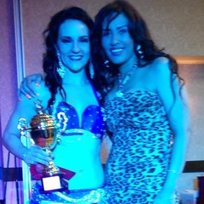 Ashley & Randa 2nd PLace Crown